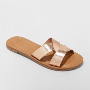 Women's Trina Crossband Slide Sandals